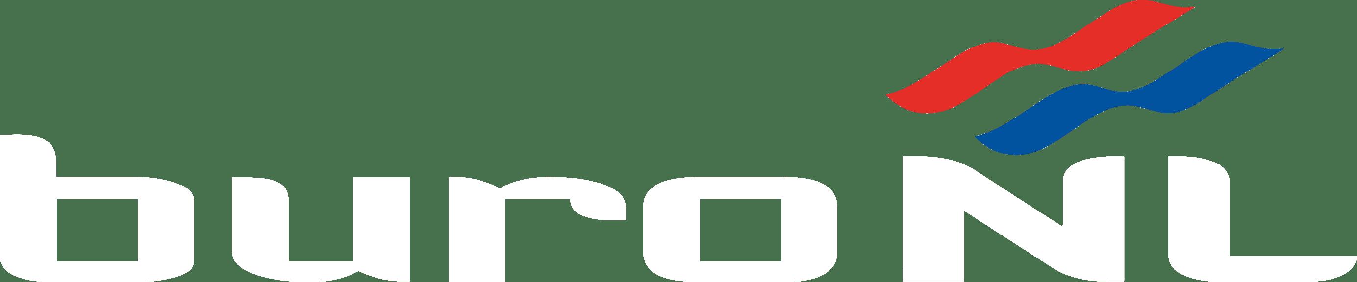 BuroNL Logo Wit